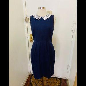 Kate spade linen sheath dress